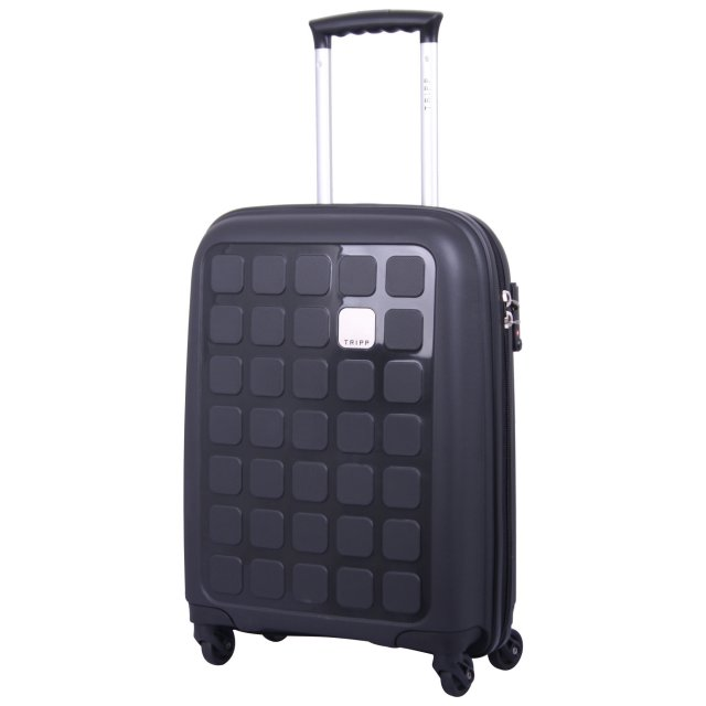 Holiday 5 Cabin 4 wheel Suitcase 55cm BLACK II
