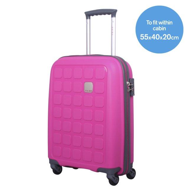 Tripp Magenta Ii Holiday 5 Cabin 4 Wheel Suitcase Hard Suitcases Tripp Ltd