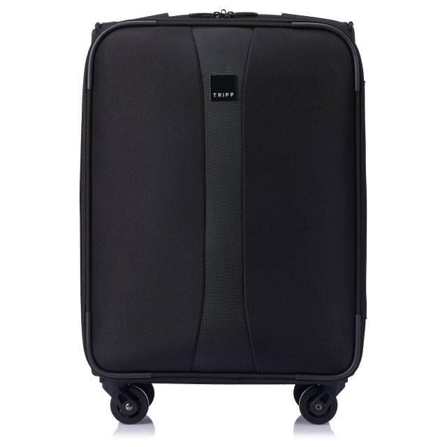 Superlite 4W Cabin 4 wheel Suitcase 55cm BLACK