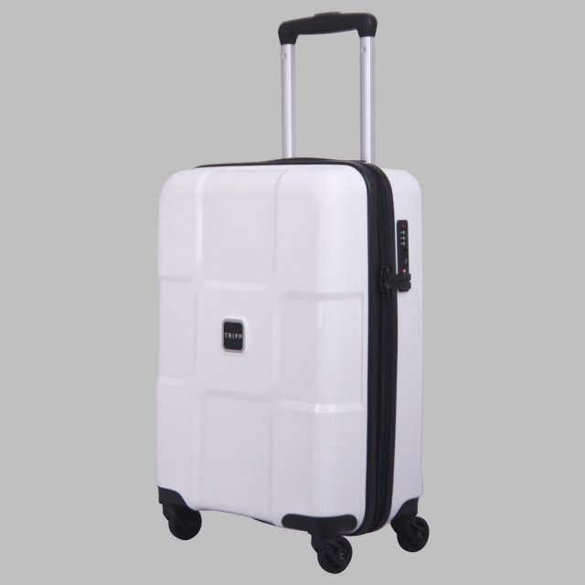 Tripp white II 'World' Cabin 4-Wheel Suitcase - Hard Suitcases ...