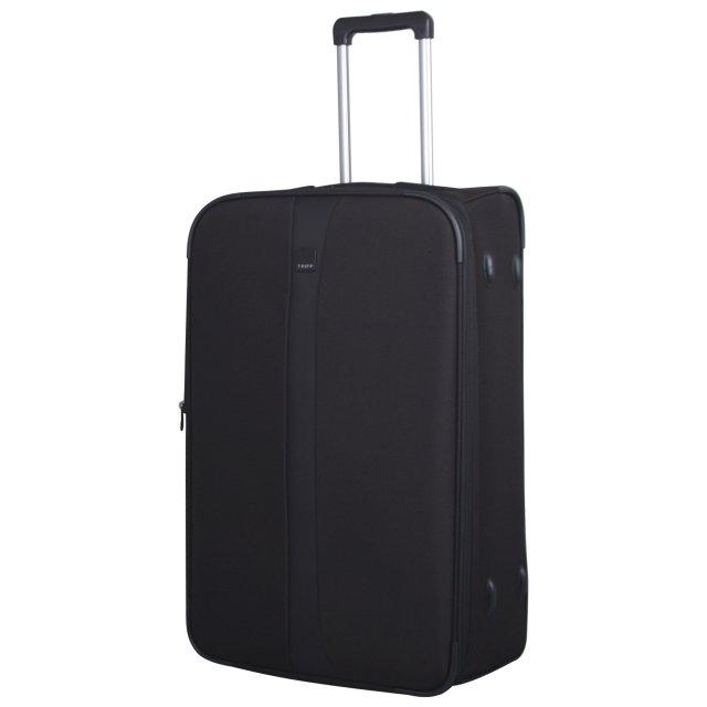 Tripp black 'Superlite III' 2 wheel large suitcase - Soft ...