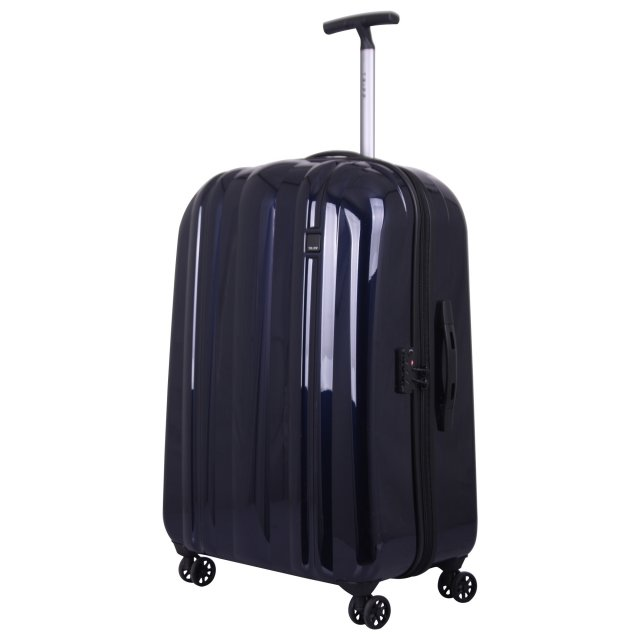 Absolute Lite Large 4 wheel Suitcase 80cm INK BLUE