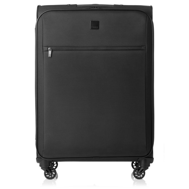 Full Circle Medium 4 wheel Suitcase 71cm BLACK