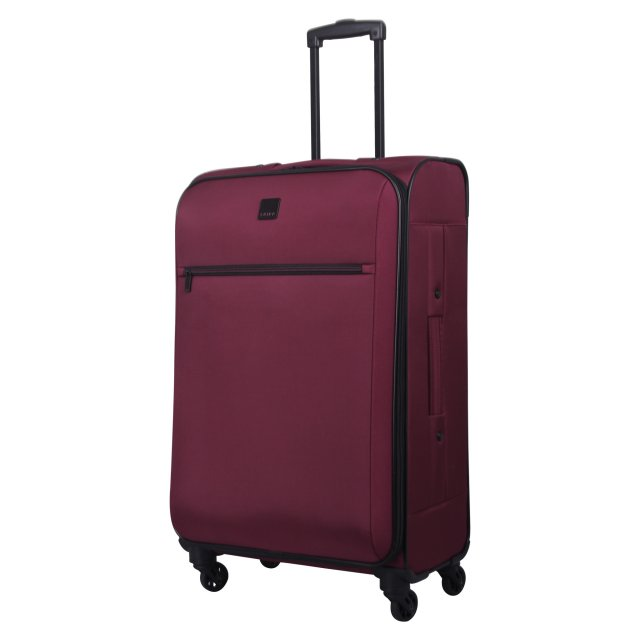 Full Circle Medium 4 wheel Suitcase 71cm SCARLET