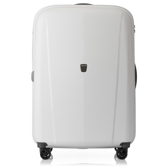 e5844411e Tripp White 'Ultimate Lite II' Large 4 Wheel Suitcase - Hard ...