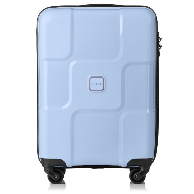 World Cabin 4 wheel Suitcase 55cm ICE BLUE