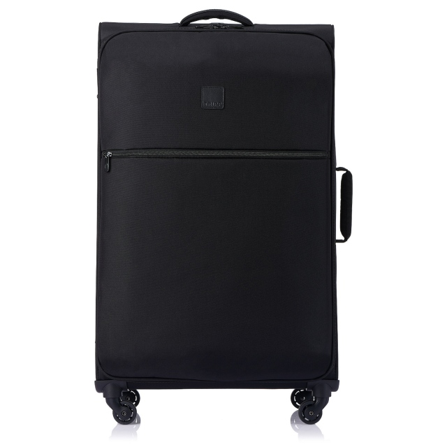 Ultra Lite Large 4 wheel Suitcase 84cm BLACK