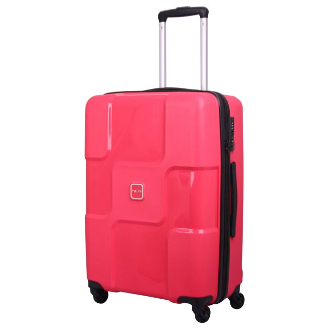 World Medium 4 wheel Suitcase 65cm ROSE