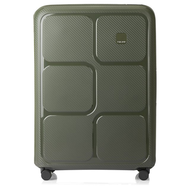 Superlock II Large 4 wheel Suitcase 75cm OLIVE