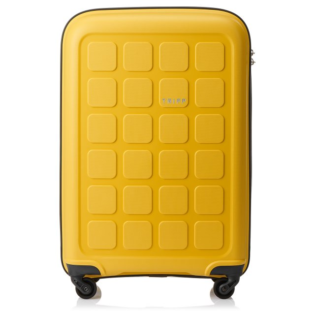 Holiday 6 Medium 4 wheel Suitcase 65cm BANANA.