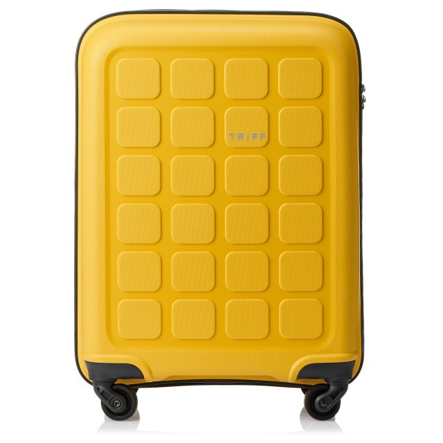 Holiday 6 Cabin 4 wheel Suitcase 55cm BANANA.