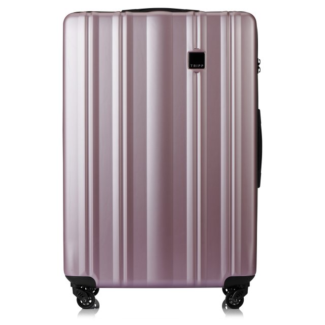Retro Large 4 wheel Suitcase 81cm BLUSH