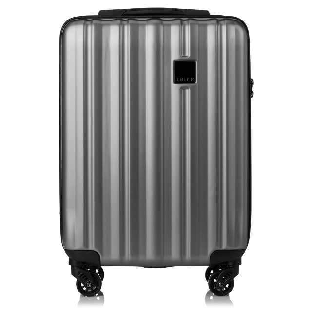Retro Cabin 4 wheel Suitcase 55cm PEWTER