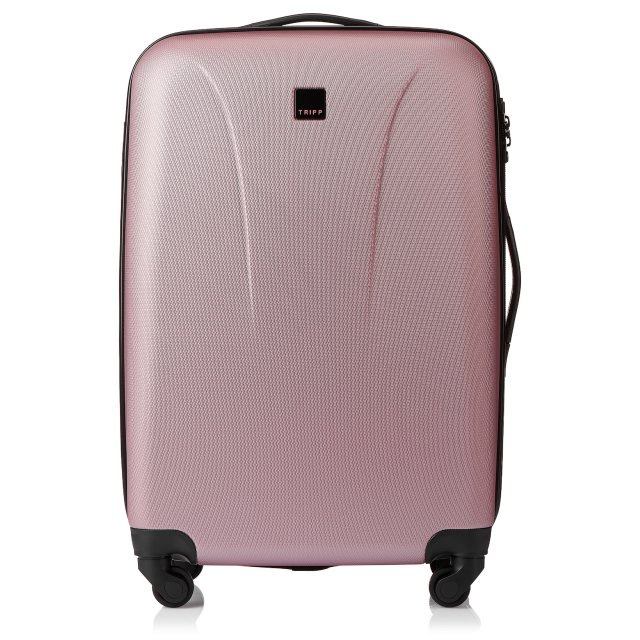 Lite 4W Medium 4 wheel Suitcase 69cm SOFT PINK