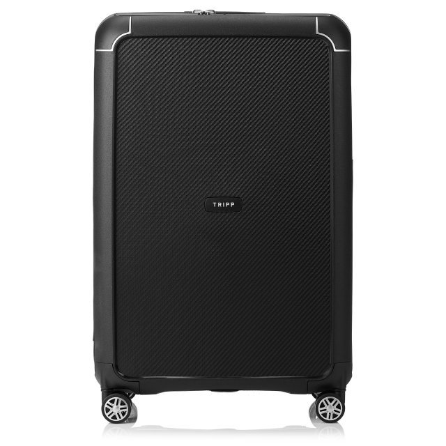 Supreme Large 4 wheel Suitcase 77cm BLACK