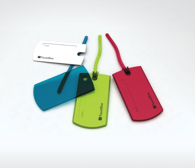Travel Blue-Jelly Tag-MULTI
