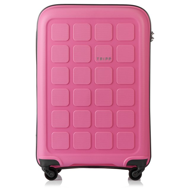Holiday 6 Medium 4 wheel Suitcase 65cm FLAMINGO