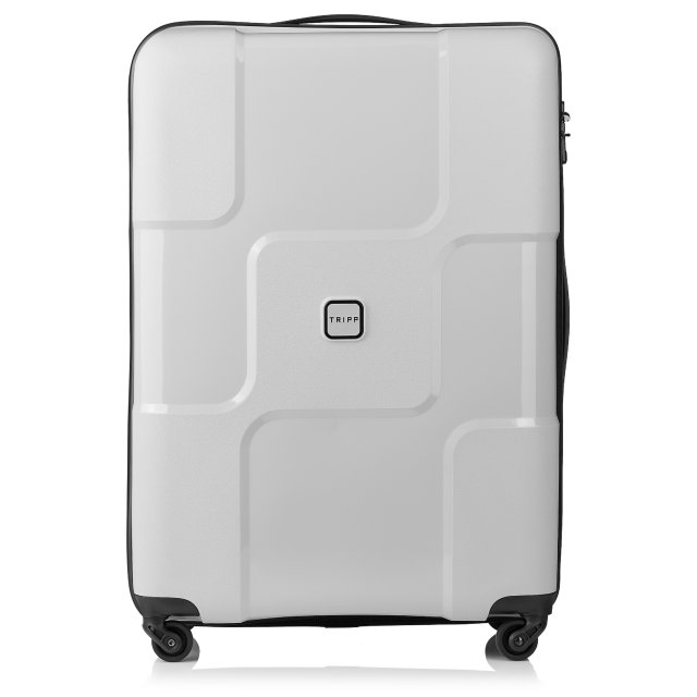 World Large 4 wheel Suitcase 77cm DOVE GREY