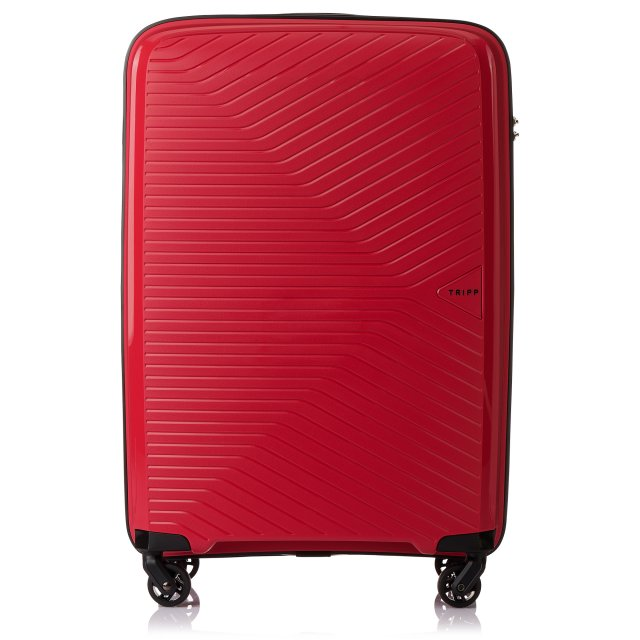 Chic Medium 4 wheel Suitcase 67cm POPPY