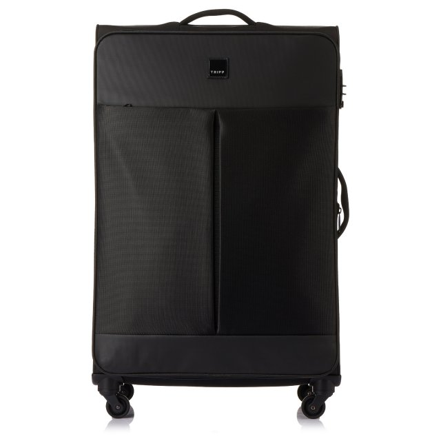 Style Lite Large 4 wheel Suitcase 83cm BLACK II.