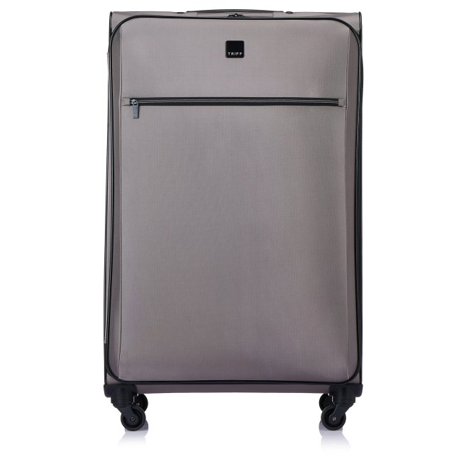 Full Circle Large 4 wheel Suitcase 83cm SILVER