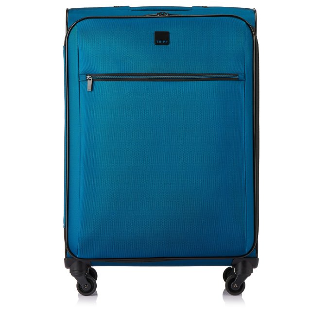 Full Circle Medium 4 wheel Suitcase 71cm AZURE