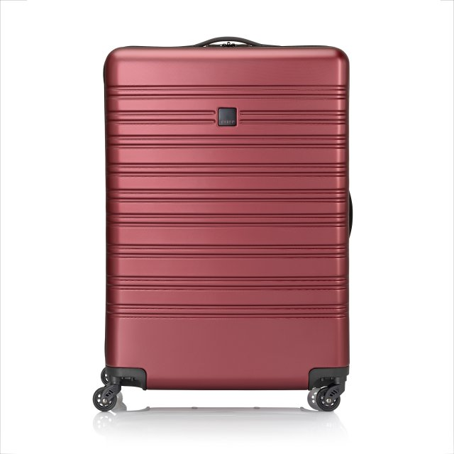 Horizon Large 4 wheel Suitcase 76cm EMBOSS RUBY
