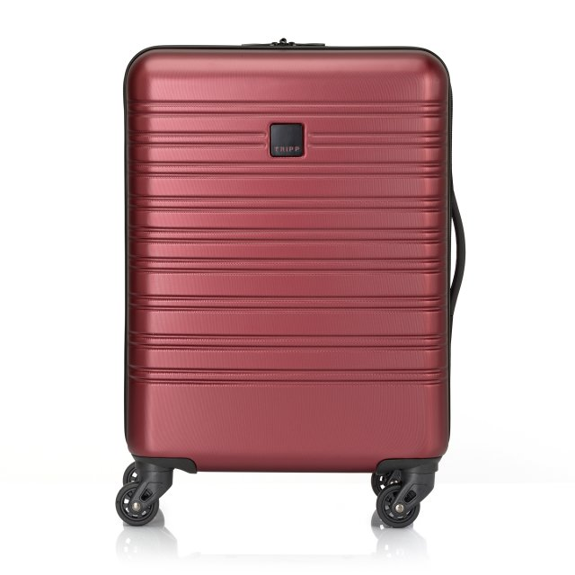 Horizon Cabin 4 wheel Suitcase 55cm EMBOSS RUBY