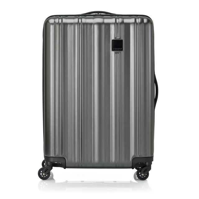 Retro II Medium 4 wheel Suitcase 67cm PEWTER