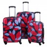 Tripp Tripp denim blue/poppy 'Leaf Hard' cabin 4w suitcase