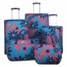 Tripp Tripp ultramarine/poppy 'Sunshine Flower' medium 2w case